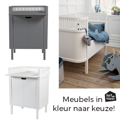 Ledikant Plus Matras.Sebra Kili Ledikant Plus Kili Commode Plus Kili Matras Lief En Klein