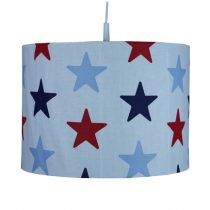 Bink Bedding dekbedovertrek Navy Star junior plus hanglamp