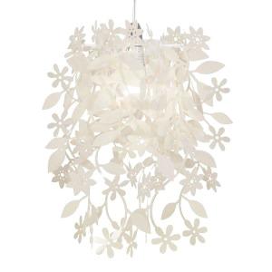 Lief en Klein lamp bloementjes wit