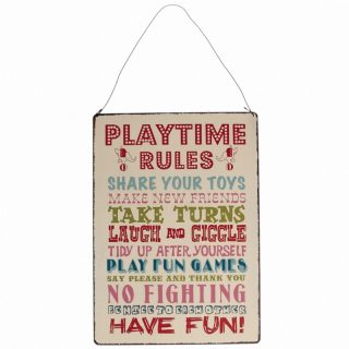 metalen bord playtime rules