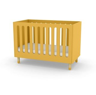Flexa babybed geel