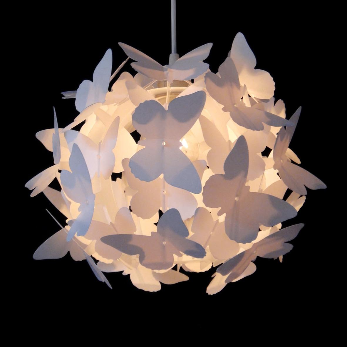 lamp met vlinders