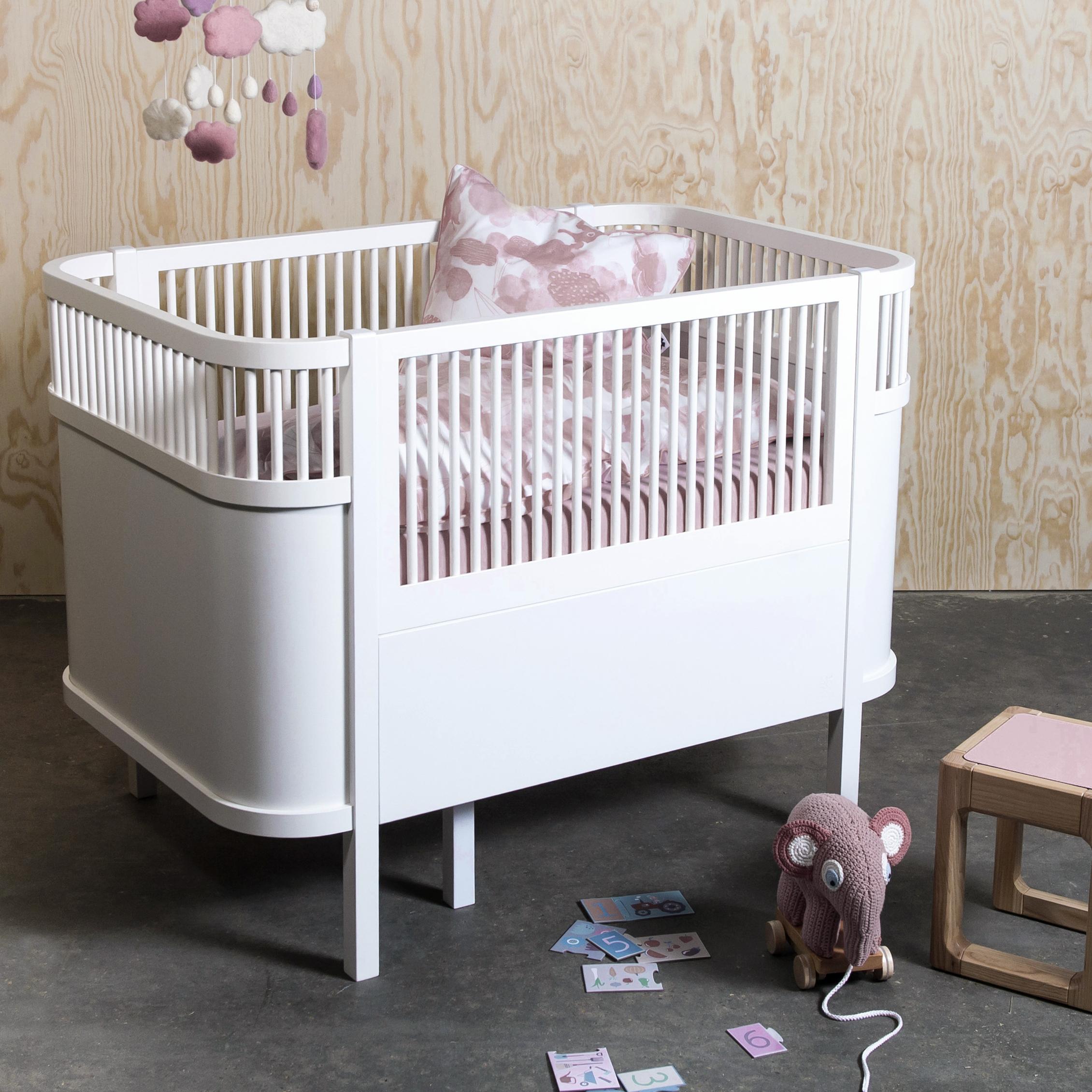 Baby Ledikant Maat.Sebra Kili Hoeslaken 70x120 Cm Wit Lief En Klein