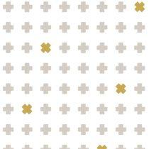 Bibelotte wallpaper behang cross stone