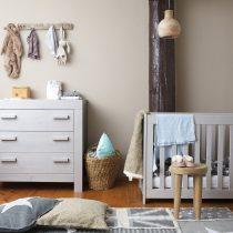 New life sfeer babykamer kiezelgrijs