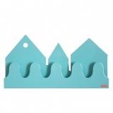 Roommate Village kapstok pastel blauw