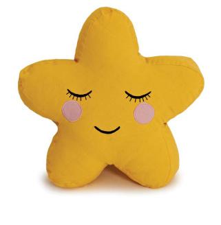 Roommate kussen ster geel