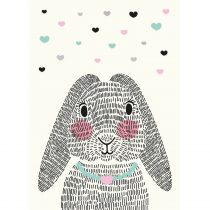 Sparkling Paper poster mrs. rabbit 2