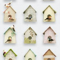 Birdhouse wallpaper 01