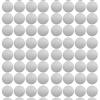 Pom muurstickers Confetti stip zilver 2
