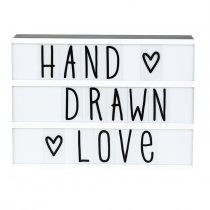 A Little Lovely Company lightbox set hand drawn