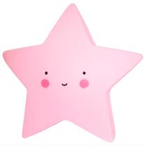 A Little Lovely Company lampje ster roze