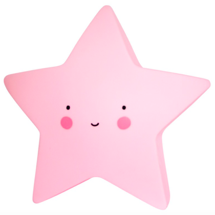 A little lovely company lampje ster roze lief en klein - Een ster in mijn cabine ...