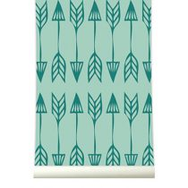 Roomblush behang Arrows groen