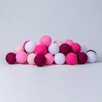 Cotton Ball Lights Pink roze