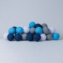 Cotton Ball Lights Sailor Blue blauw