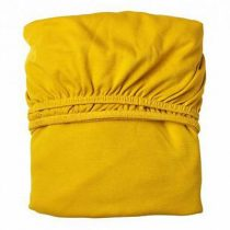 Leander hoeslakens ledikant geel 2 stuks