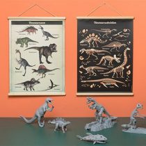 Little and Pure poster praatplaat Dinosaurus 3