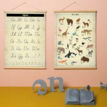 Little and Pure poster praatplaat ABC 3