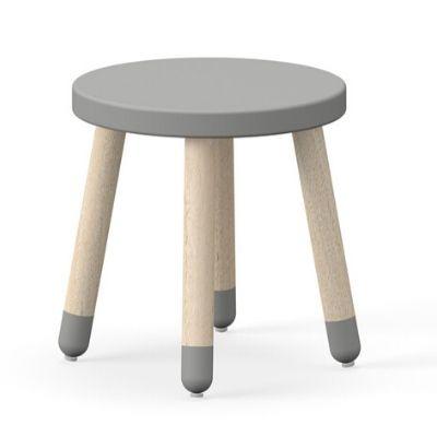 Flexa play stoeltje krukje grijs