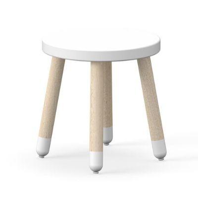 Flexa Play stoeltje krukje wit