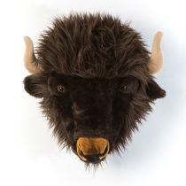 Wild en Soft dierenhoofd buffel Alex 2