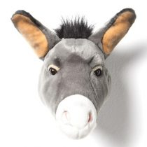 Wild en Soft dierenhoofd ezel Francis 2