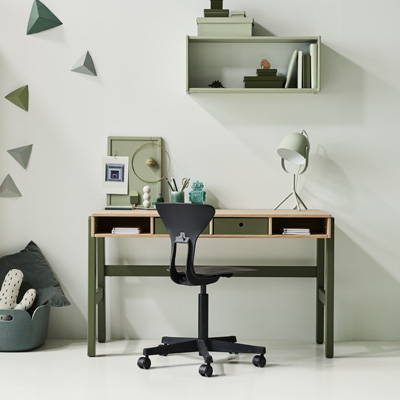 flexa popsicle bureau cherry lief en klein. Black Bedroom Furniture Sets. Home Design Ideas