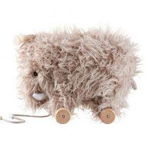Kids Concept houten trekdier mammoet