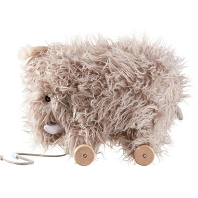 Kids Concept houten trekdier mammoet - Lief en Klein