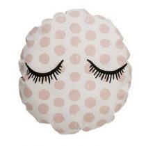 Bloomingville vloerkussen sleepy eyes roze