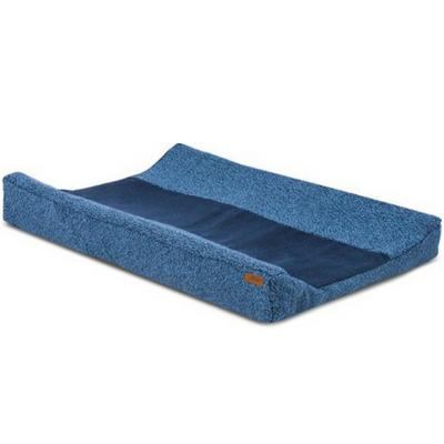 Jollein aankleedkussenhoes Stonewashed knit blauw