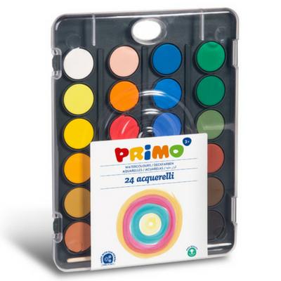Primo Aquarelverf tablet 24 kleuren