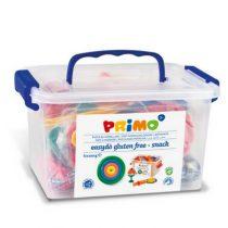 Primo schoolbox met 6 kleuren klei snackbar