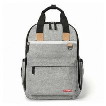 Skip Hop luiertas Duo Signature Backpack grey melange