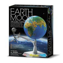 4M KidzLabs space bouwset aarde maan model