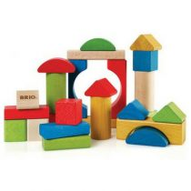 BRIO gekleurde blokken 25st 30114
