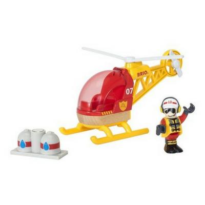 Brio trein brandweer helikopter