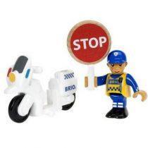Brio trein politie motoragent