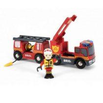Brio trein brandweer locomotief