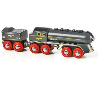 Brio trein zwarte hogesnelheidstrein