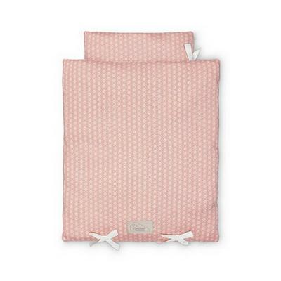 CamCam poppendekbed en kussen sashiko blush
