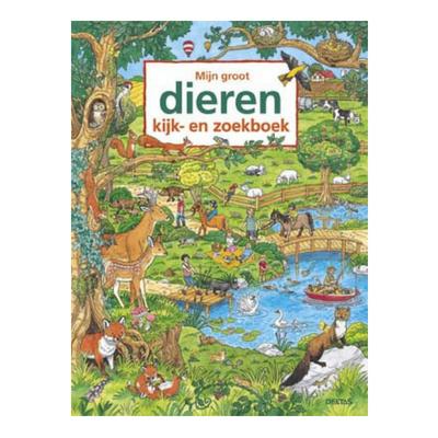 8b5ad39beee27b Deltas Mijn groot dieren kijk- en zoekboek - Lief en Klein