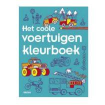 Deltas coole voertuigen kleurboek