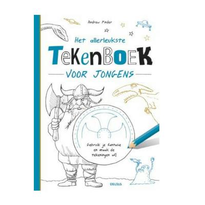 f024a6a4b5fcad Deltas Het allerleukste tekenboek voor jongens DIY - Lief en Klein