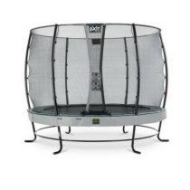EXIT Elegant premium trampoline 305cm met veiligheidsnet economy grijs