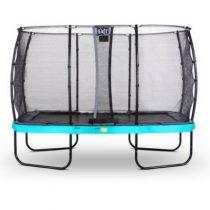 EXIT Elegant premium trampoline 244x427cm met veiligheidsnet deluxe blauw