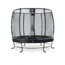 EXIT Elegant premium trampoline 253cm met veiligheidsnet deluxe zwart