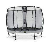 EXIT Elegant premium trampoline 305cm met veiligheidsnet deluxe grijs