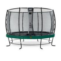 EXIT Elegant premium trampoline 366cm met veiligheidsnet deluxe groen